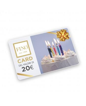 FINO Gift Card Compleanno