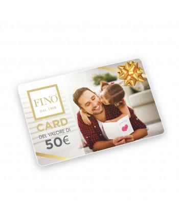 FINO Gift Card Auguri Papà
