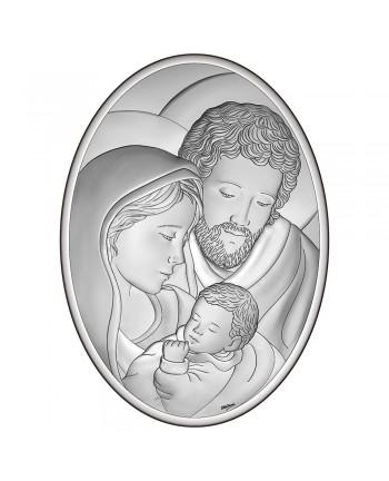 Icona ovale sacra famiglia...