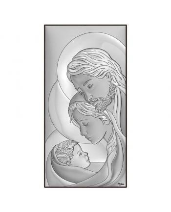 Icona Sacra Famiglia 24x47